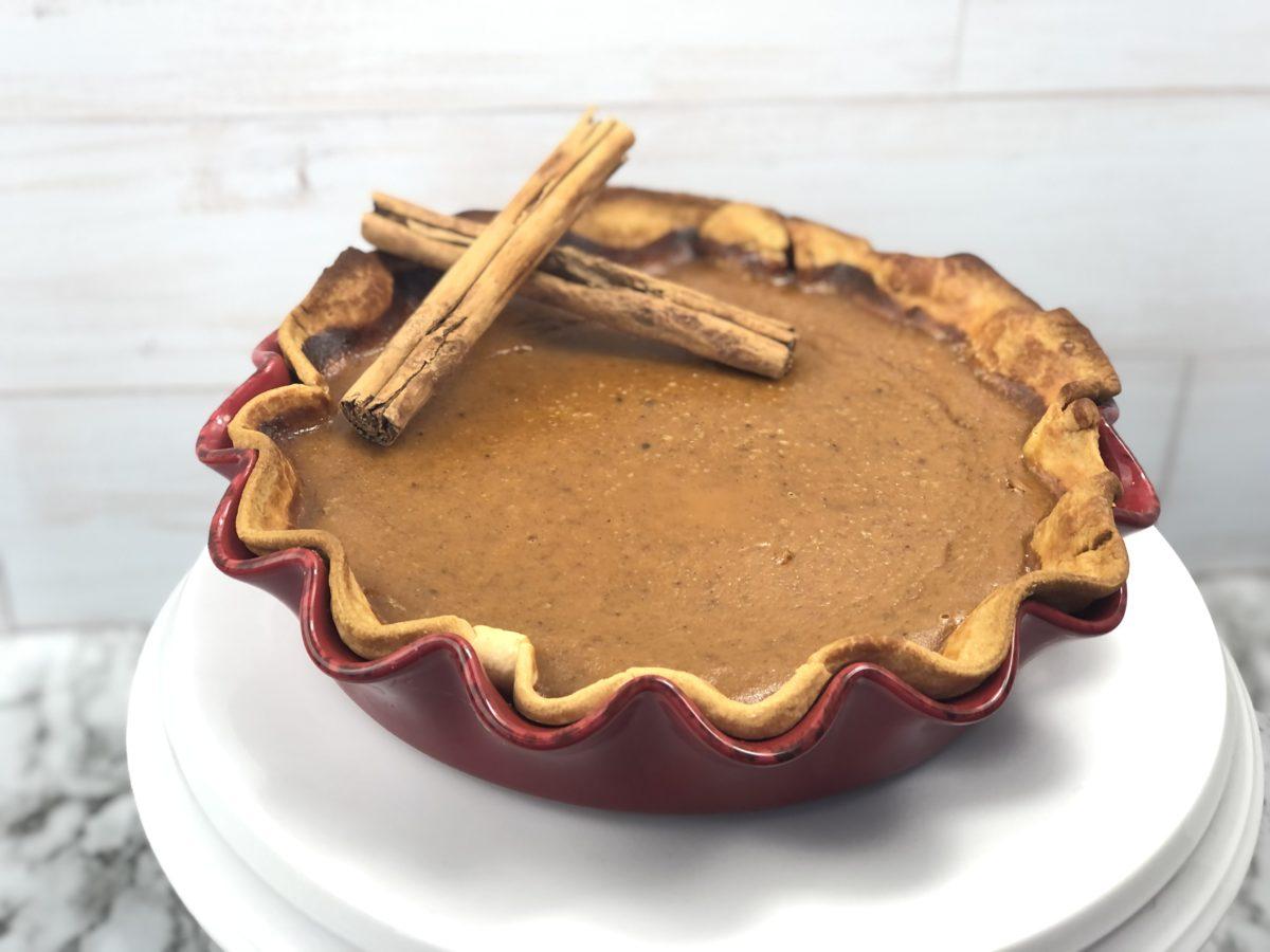 Easiest Pumpkin Pie