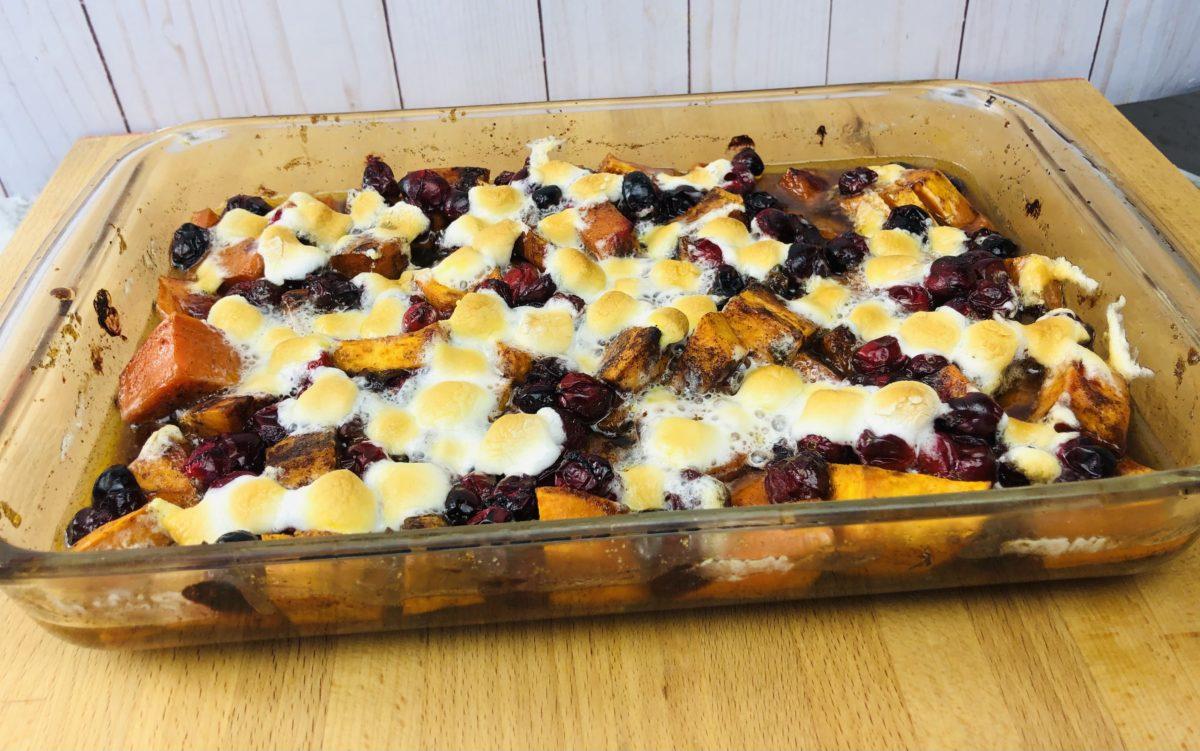 Sweet Potato Cranberry
