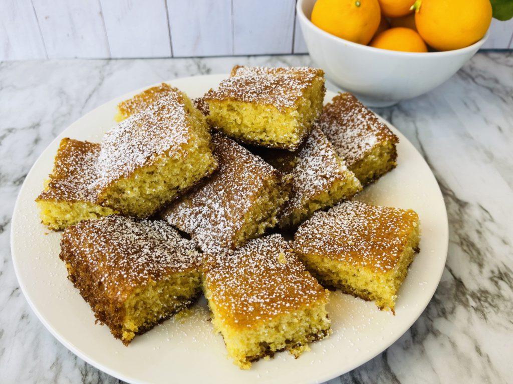 Fresh Lemon Brownies