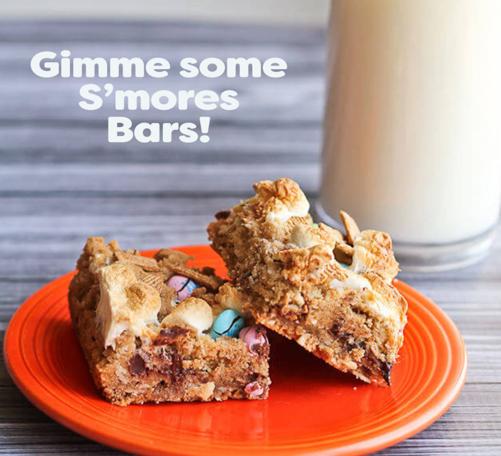 Gimme Some S'mores Bars
